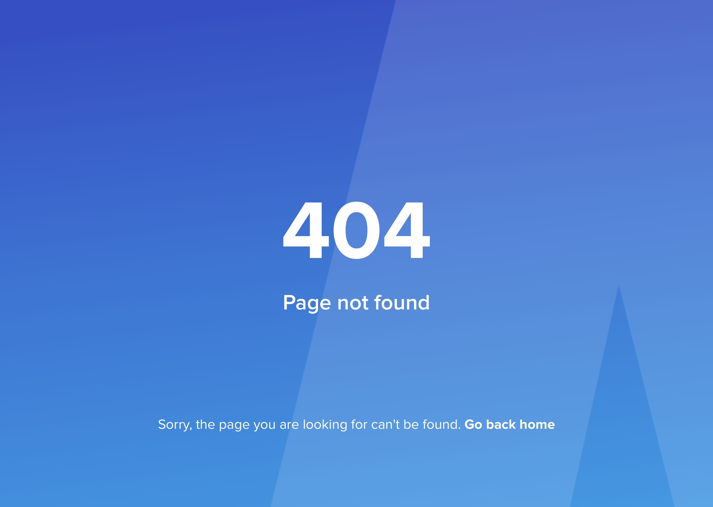 Mobile 404 Page