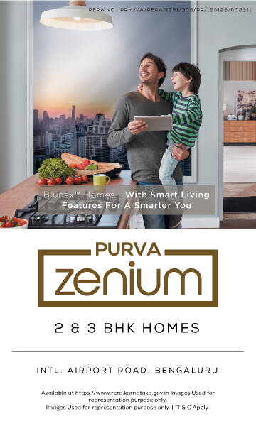Purva Zenium banner