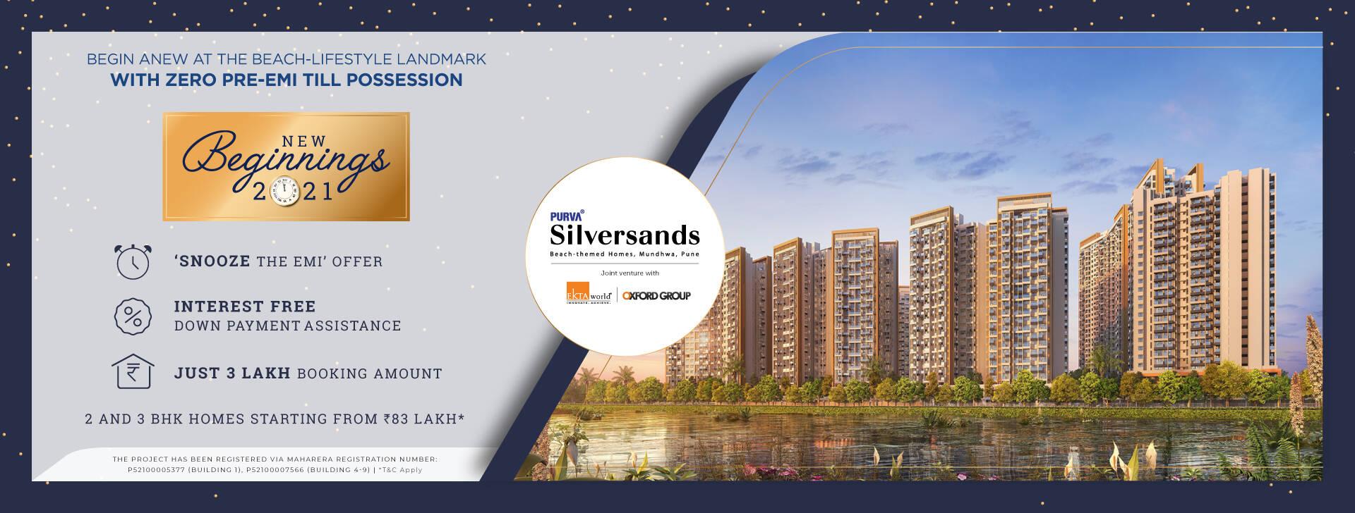 Purva Silversands banner