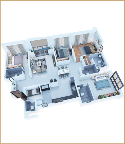 puravankara project floor plan