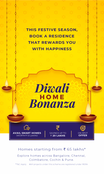 diwali home bonanza offer mobile banner