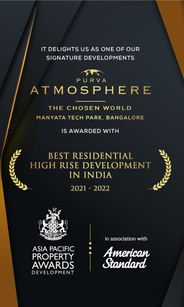 Purva Atmosphere with Best Residential High Rise Developement in India 2021 - 2021