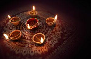 Diyas Happy Diwali Decor