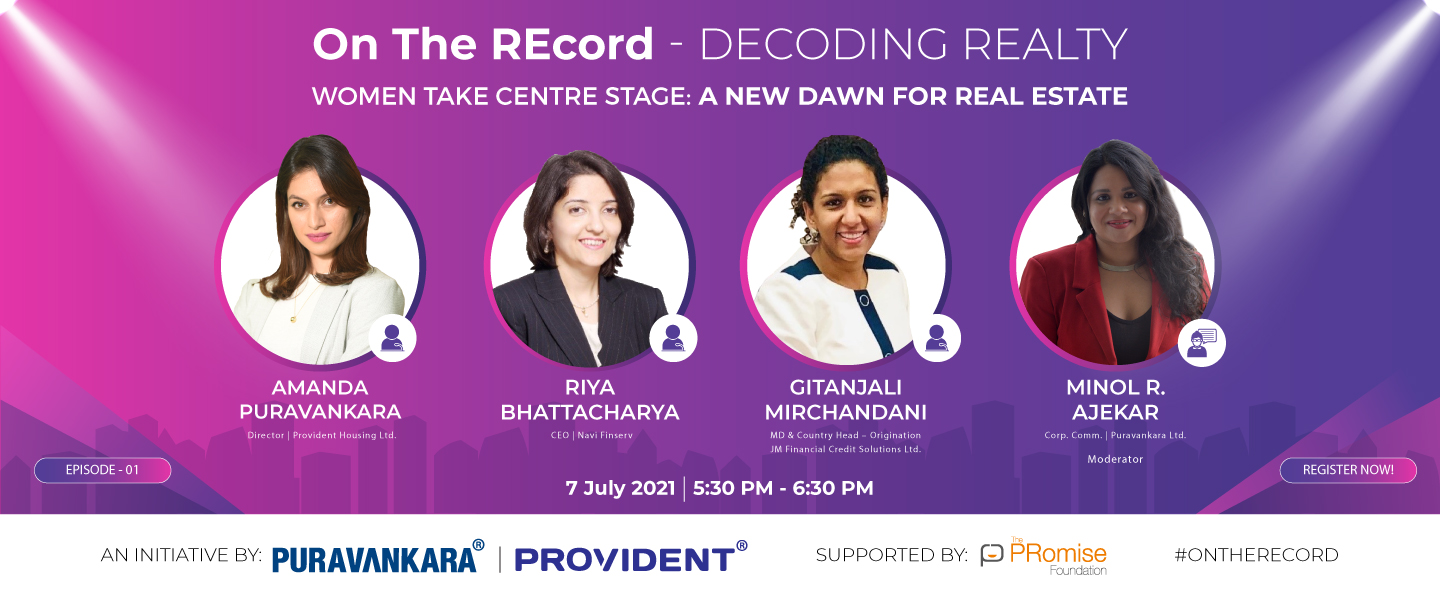 Puravankara Launches Expert-led Knowledge Series – 'On The REcord – Decoding Realty'