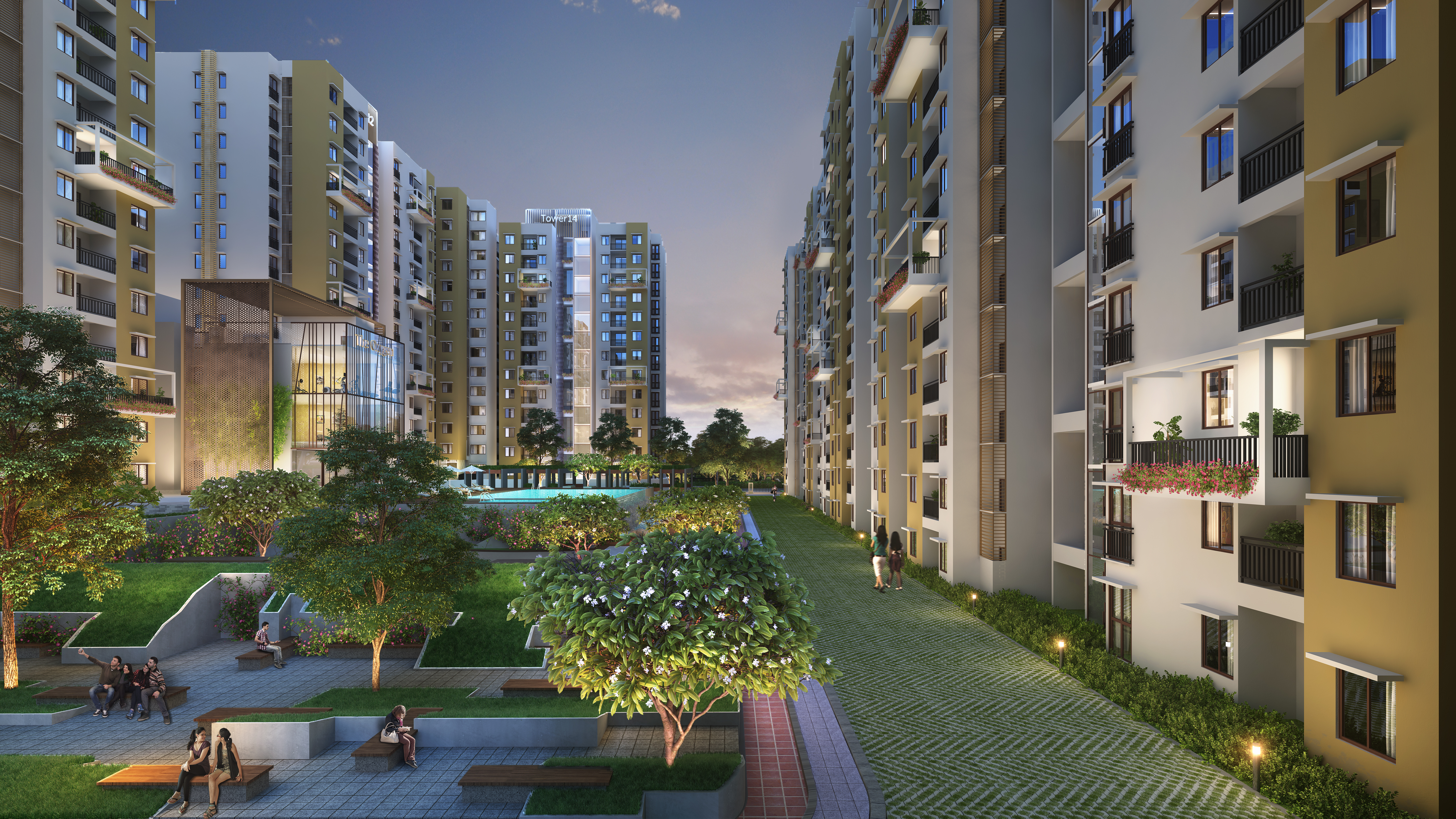 Purva Zenium –  Welcome to a futuristic lifestyle in a  High Growth location
