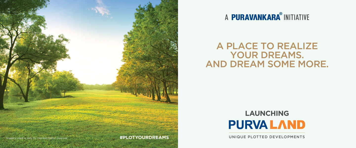 Purva Land – Your space. Your lifestyle.